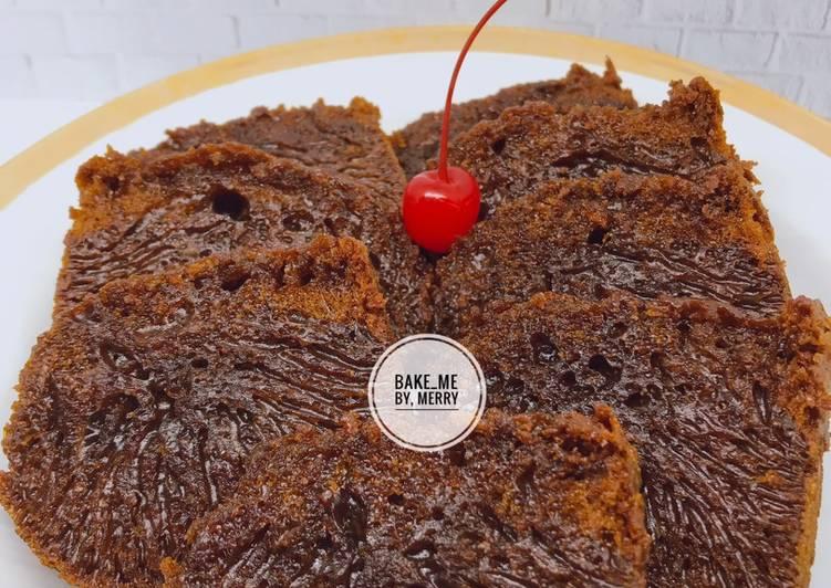 Resep mengolah Bolu Sarang Semut/ bolu caramel