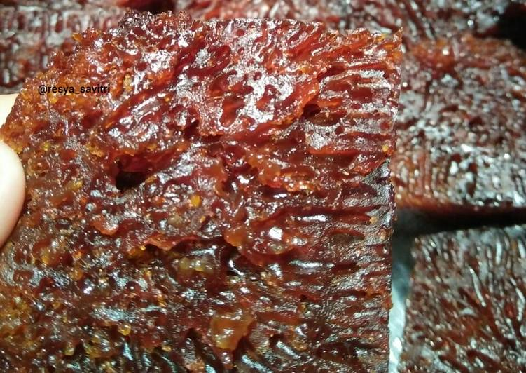 Resep mengolah 55. Kue Sarang Semut Panggang(Bolu Caramel)