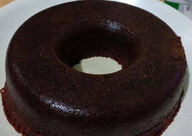 Cara memasak Bolu karamel a.k.a sarang semut