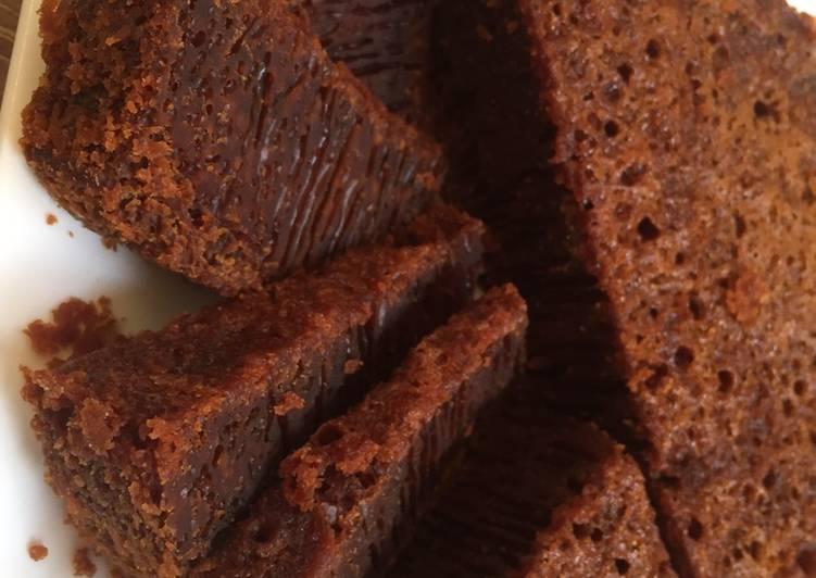 Cara Mudah membuat Bolu sarang semut (Bolu caramel) tanpa mixer tanpa oven enak
