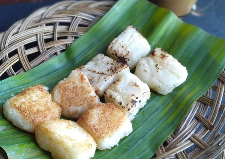 Resep: Uli Jadah Tetel ketan🍙 lezat