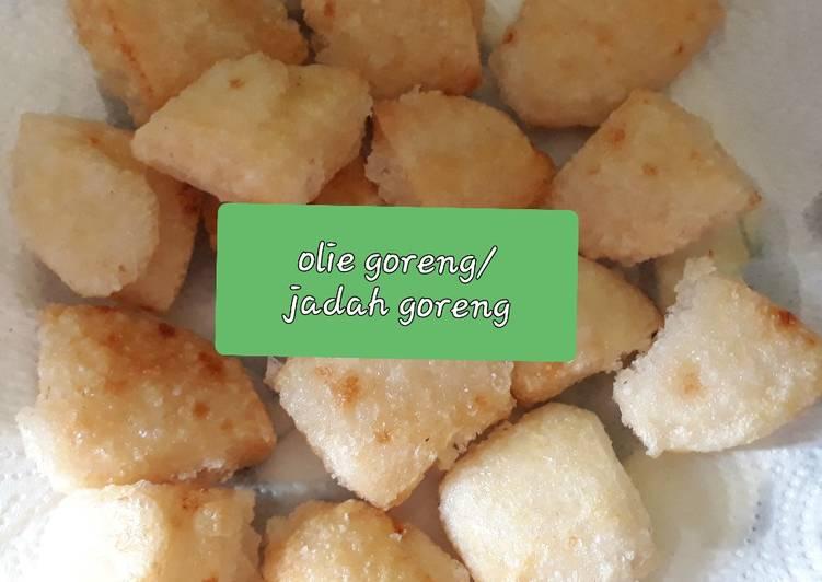 Resep: Olie goreng/jadah goreng