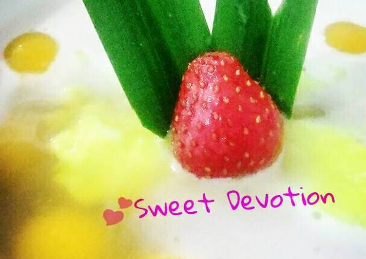 Resep: 💕 Jenang sapar & bubur sum2 (kolak biji salak) Sweet Devotion lezat