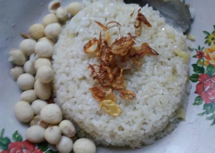 Resep: Nasi goreng putih lezat