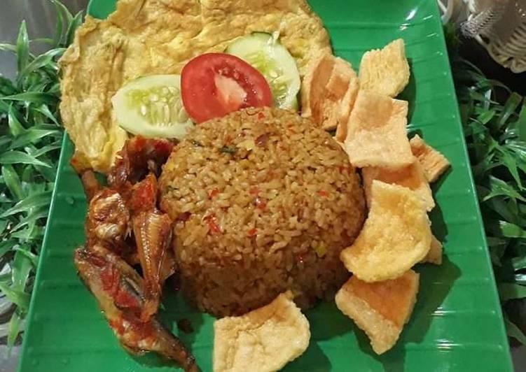 Resep: Nasi goreng + asin sambal
