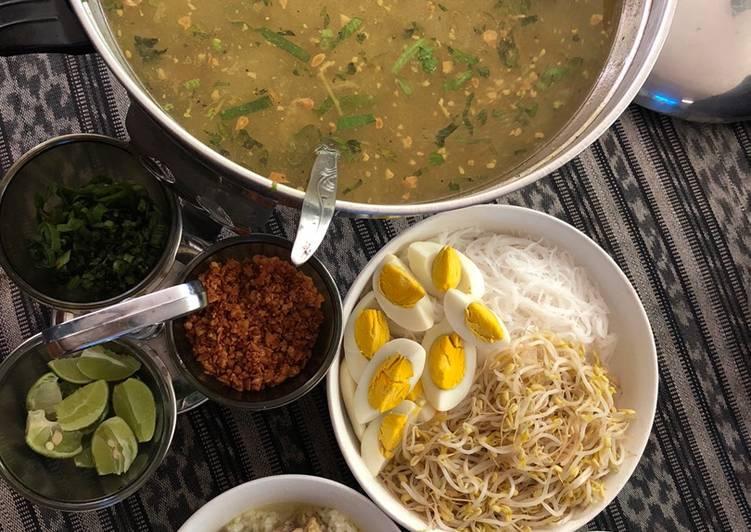 Cara memasak Soto lamongan
