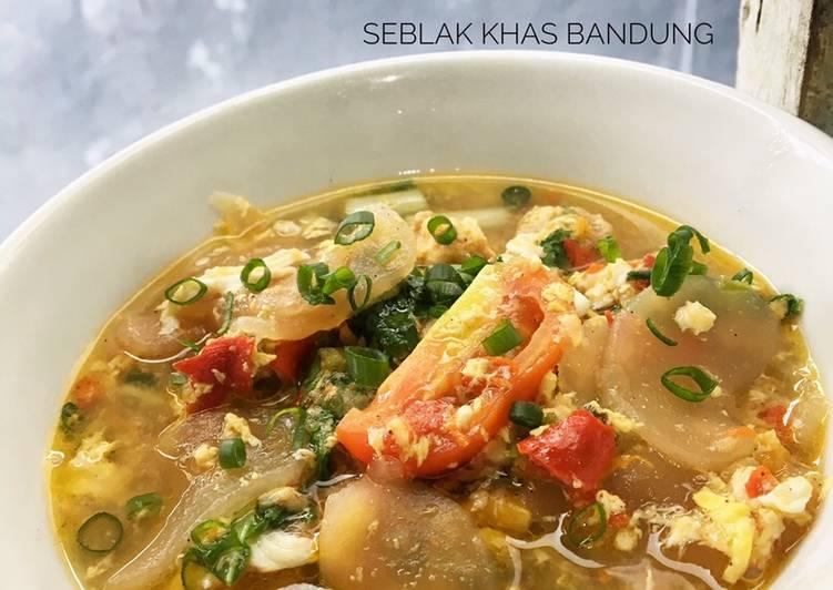 Resep: Seblak khas Bandung