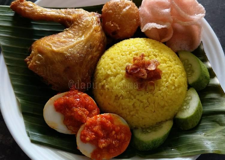 Resep: Nasi kuning betawi