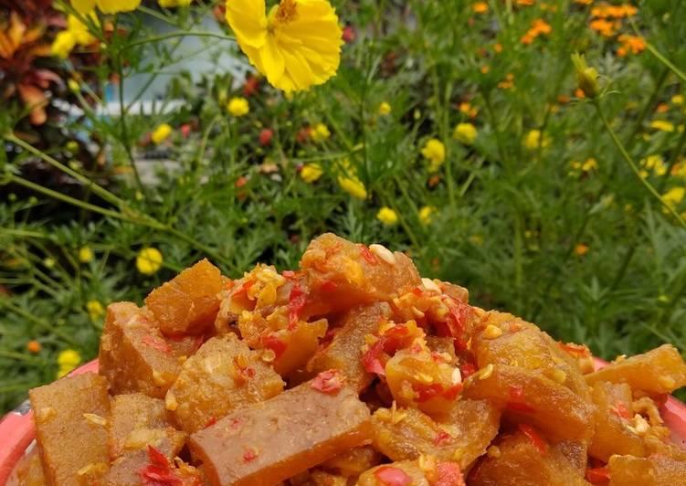 Resep memasak Sambal goreng kering kentang dan cecek