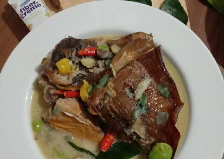 Resep: Mangut bumbu iris lezat
