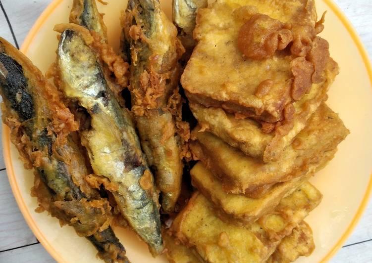 Resep: Pindang & tempe krispy lezat