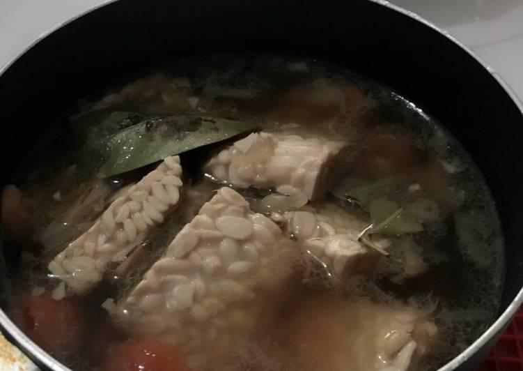 Resep: Pindang tempe udang (versi 2) istimewa