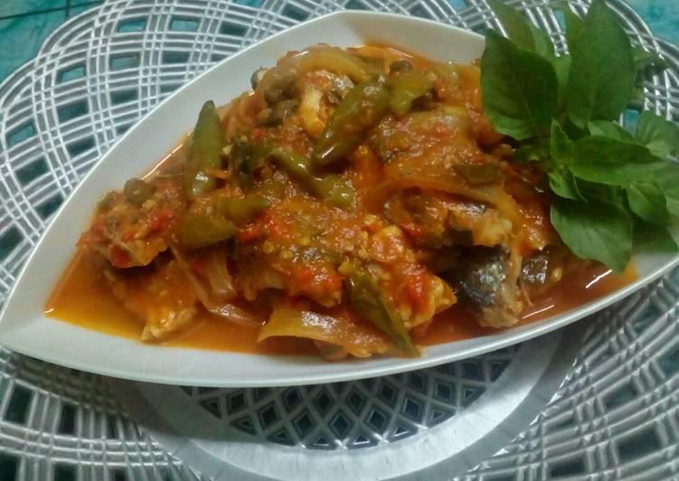 Resep: Pindang tempe bumbu tomat