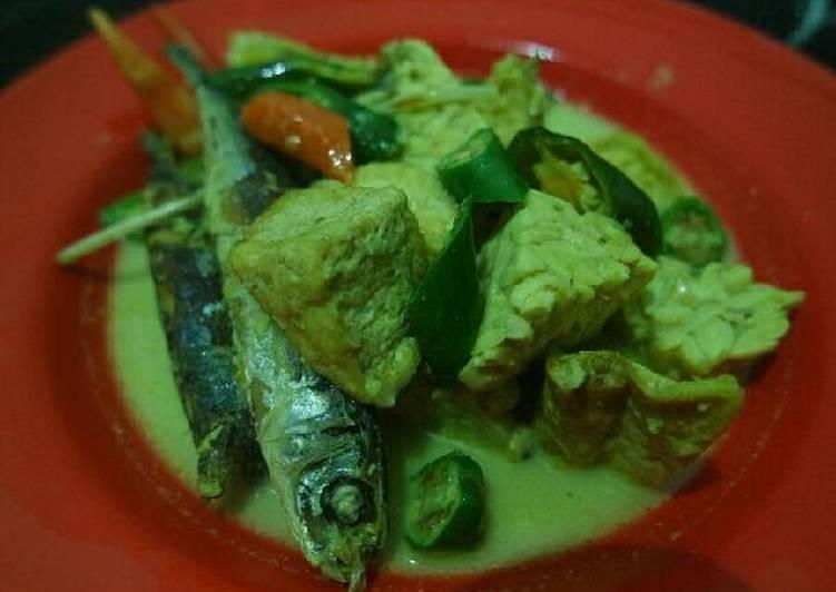 Resep: Kotok ikan pindang tahu tempe