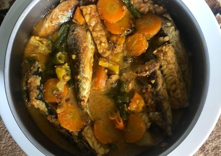 Resep membuat Pindang sayur santan enak