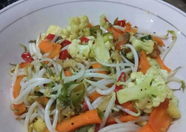 Resep: Tumis Sayuran dg black pepper istimewa