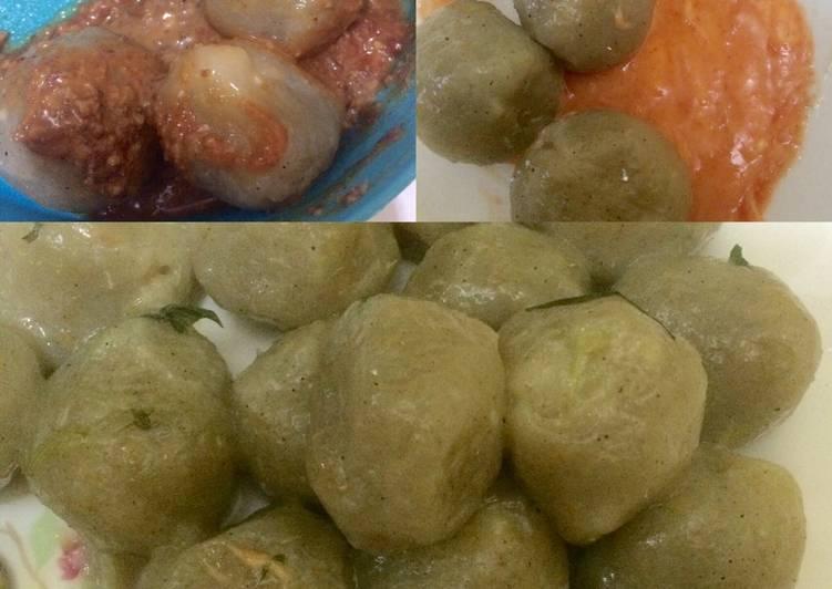 Cara membuat Cilok sayur lada hitam isi keju lezat