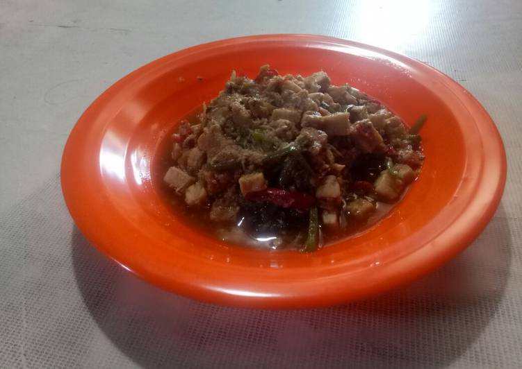 Resep memasak Cah Kangkung lada hitam kuah asam istimewa