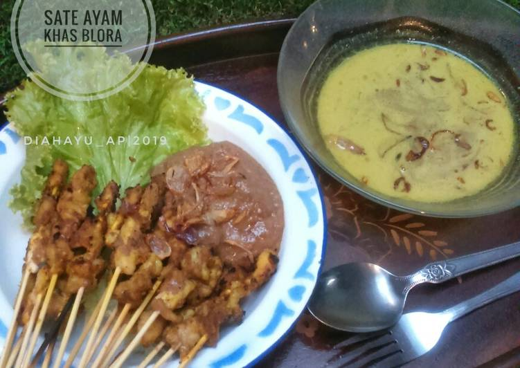 Cara membuat Sate Ayam khas Blora enak