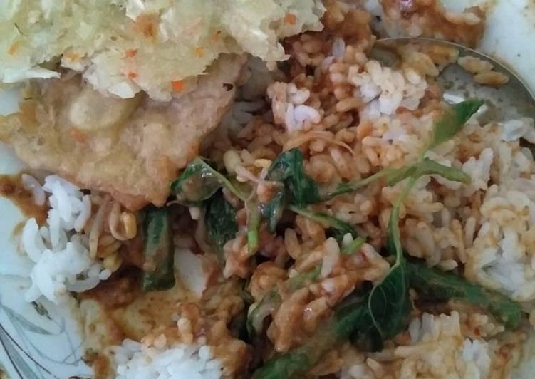 Resep: Sambal kacang (sambel pecel pedes blora)