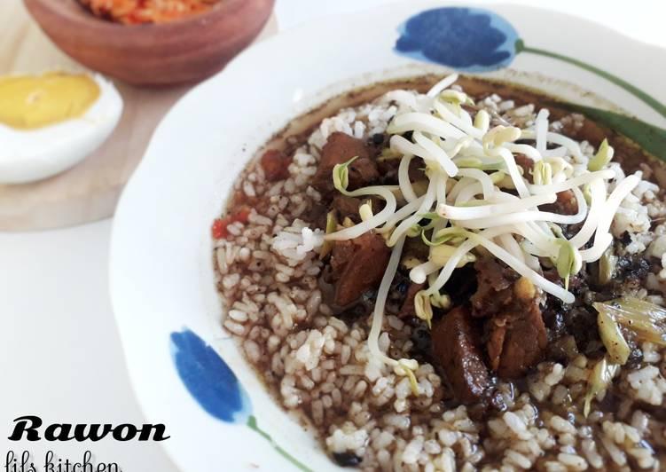 Resep memasak Rawon jawa timur
