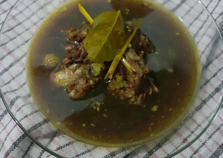 Resep: Rawon Tetelan Daging Sapi