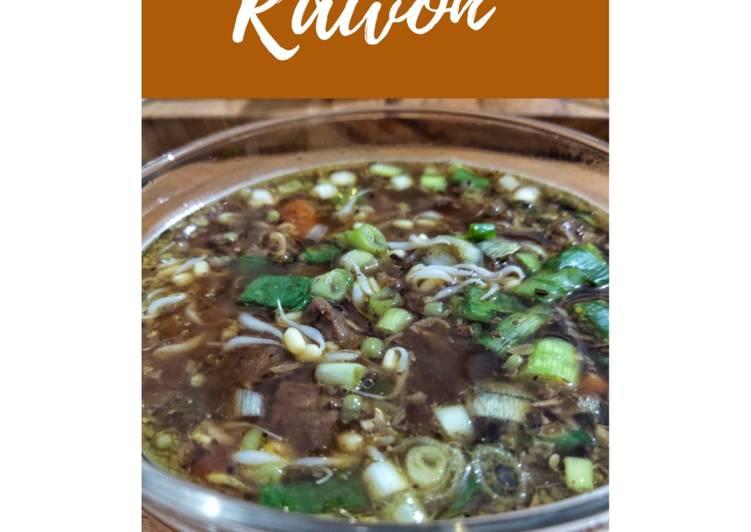 Cara mengolah Rawon