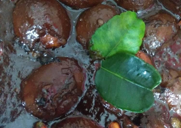 Resep: Telor cit (endog cit) khas Banyuwangi