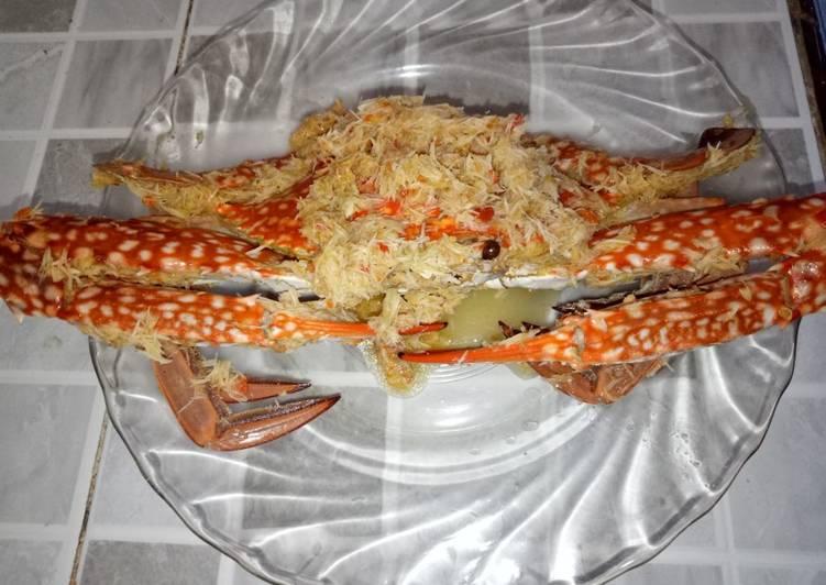 Cara memasak Pecel Rajungan Pedas (khas Banyuwangi) lezat