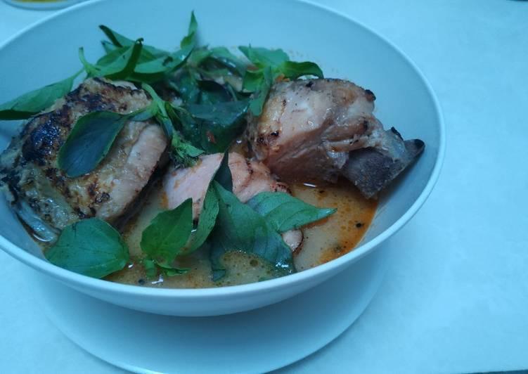 Resep mengolah Ayam santan khas banyuwangi..