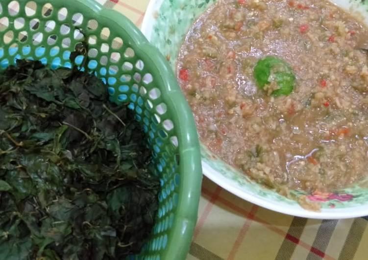Cara memasak Sayur semanggi sambel sereh#banyuwangi lezat