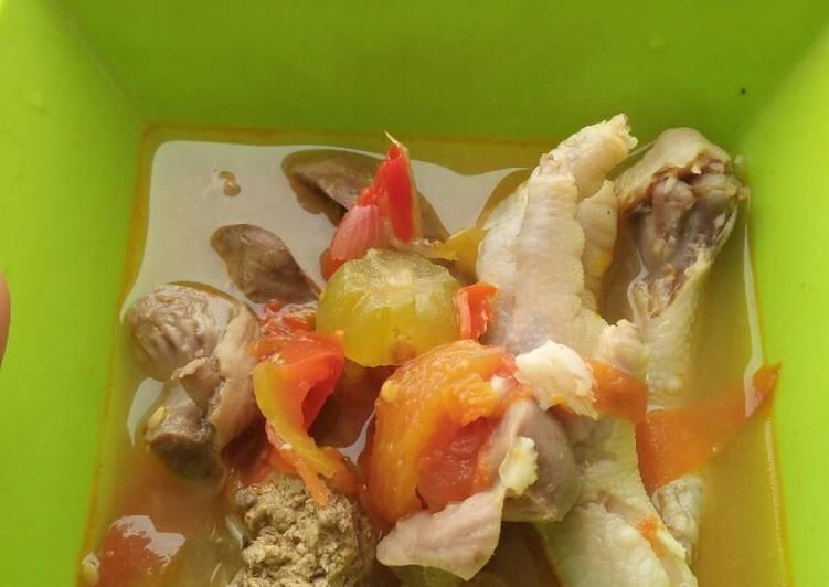 Cara membuat Ayam kesrut Banyuwangi sederhana / Uyah Asem lezat