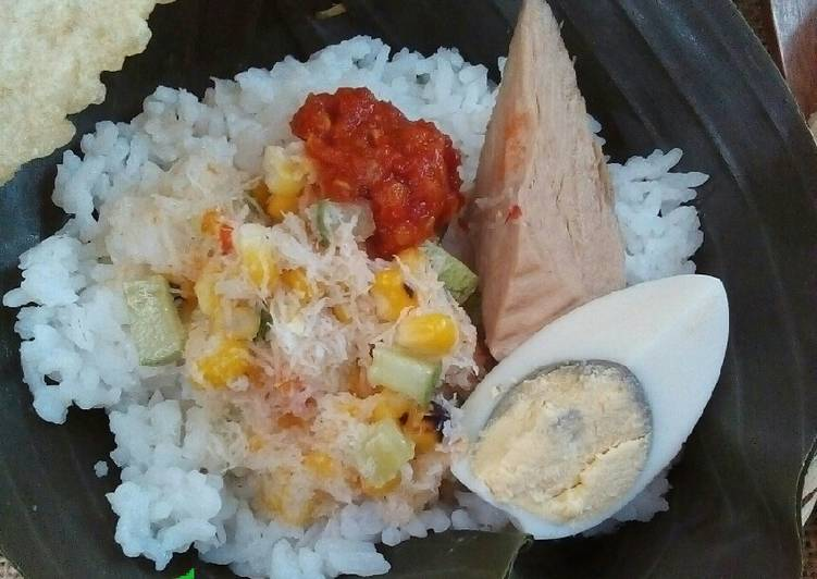 Cara Mudah membuat Sego Cawuk khas Banyuwangi