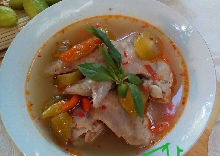 Cara Mudah mengolah Ayam Kesrut khas Banyuwangi