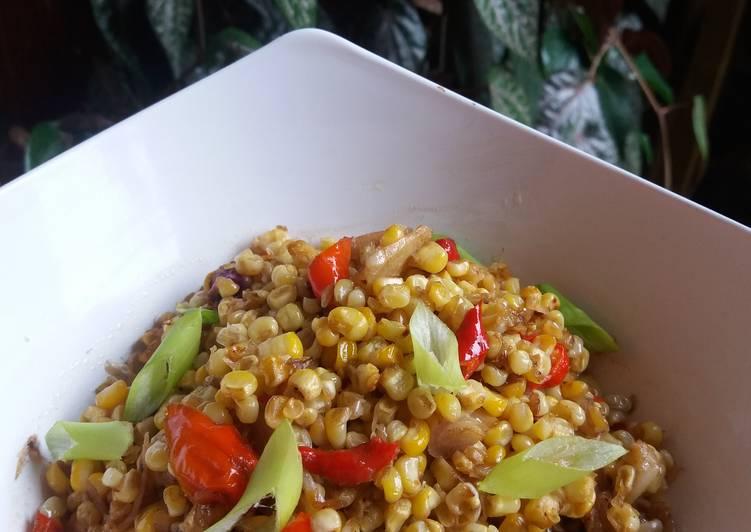 Resep: Serondeng jagung Banyuwangi ala DapurRani lezat