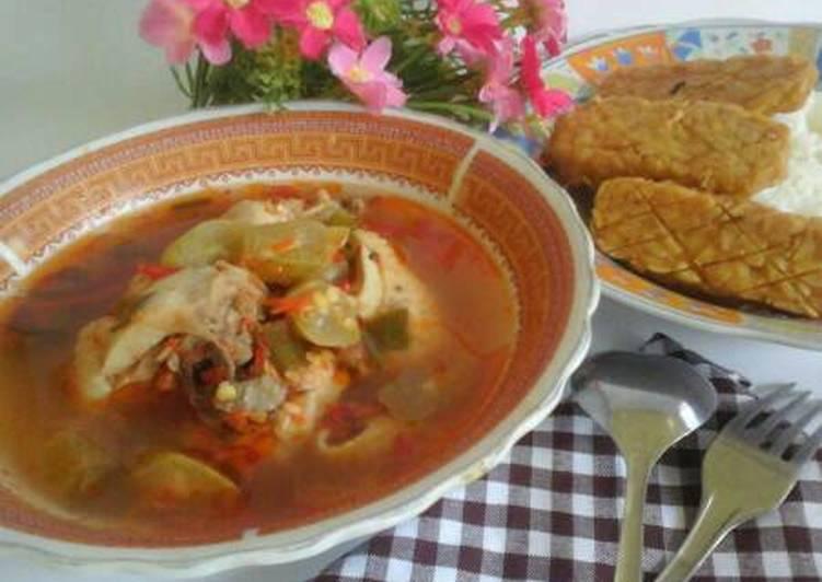 Resep mengolah Ayam kesrut (kuliner khas banyuwangi) istimewa
