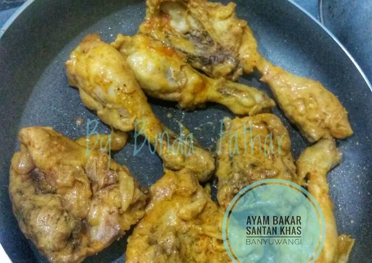 Resep: Ayam bakar santan khas Banyuwangi