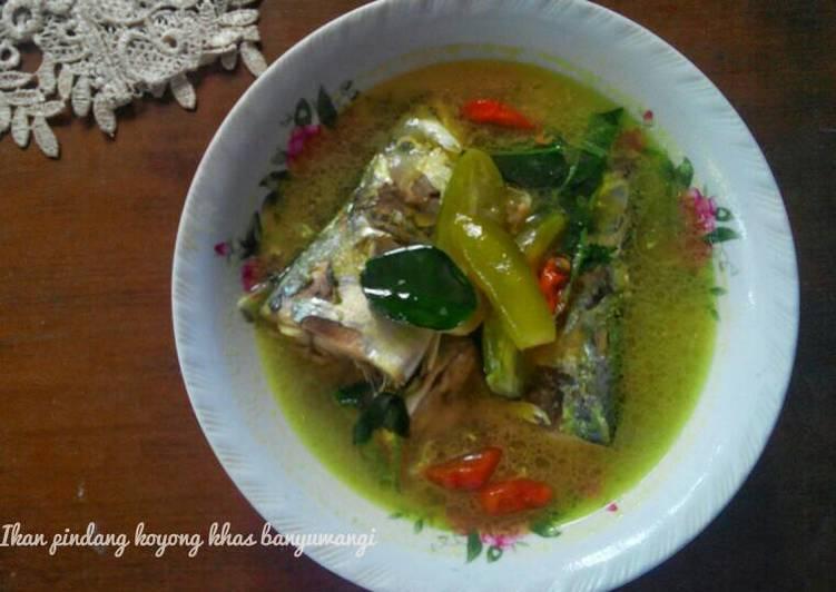 Cara Mudah memasak Ikan Pindang Koyong khas Banyuwangi