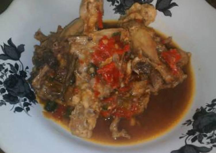 Rosok'an ayam banyuwangi