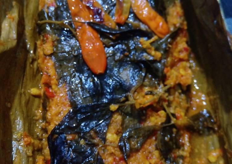 Cara Mudah memasak Pepes ikan nila...😋 lezat