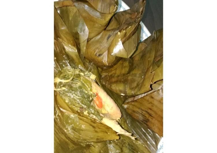 Resep membuat Pepes ayam anti gagal meresap sampai dalam
