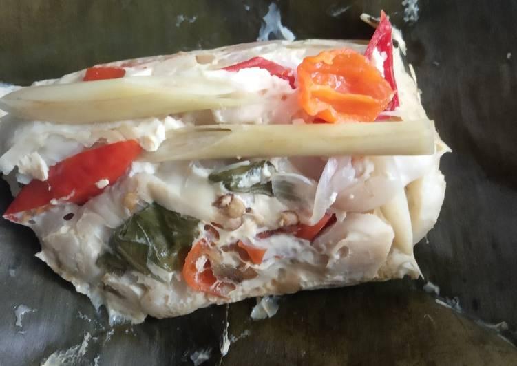 Resep: Pepes jamur dan tahu lezat