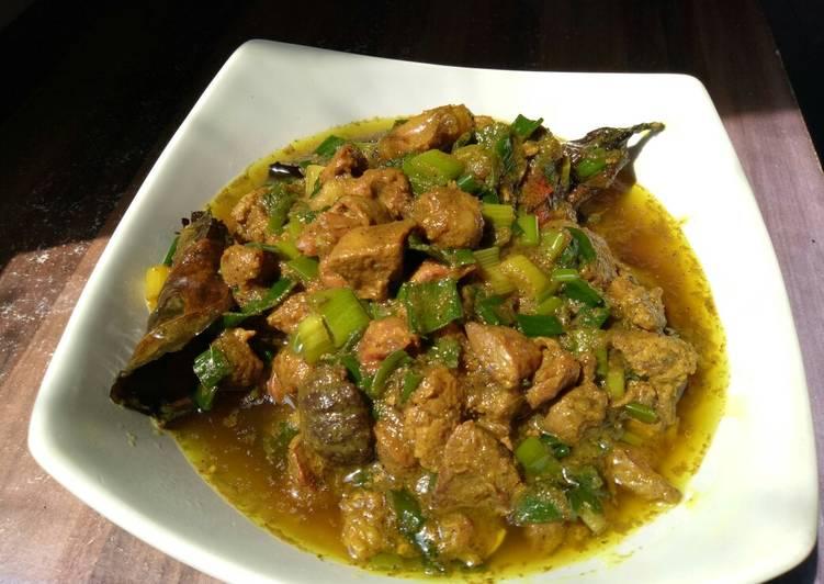 Resep: Pepes Daun Bawang & Ati Ampela Ayam (Untuk Pelengkap Bubur Ayam) lezat