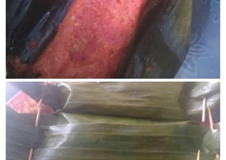 Cara Mudah memasak Pepes ikan pindang enak