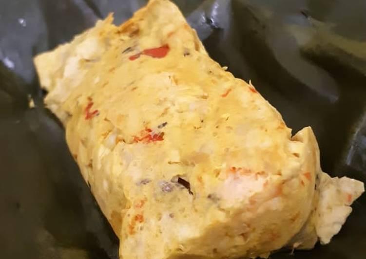 Resep: Pepes ikan Tenggiri udang tahu n jamur endolita