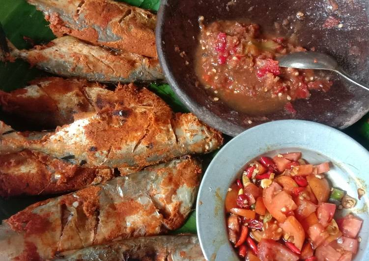 Resep: Pepes ikan kembung bakar