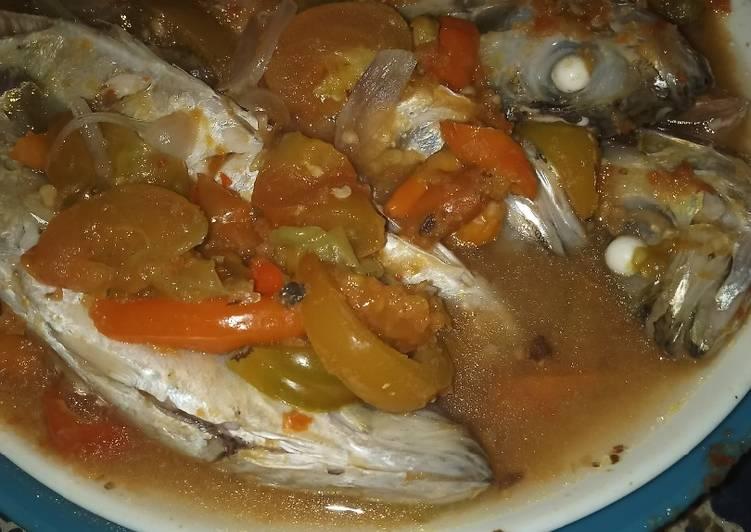 Resep: Pepes tanpa daun (sayur ikan pedas)
