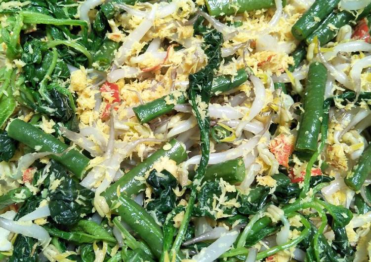 Resep: Urap-urap Sayur (No Minyak)