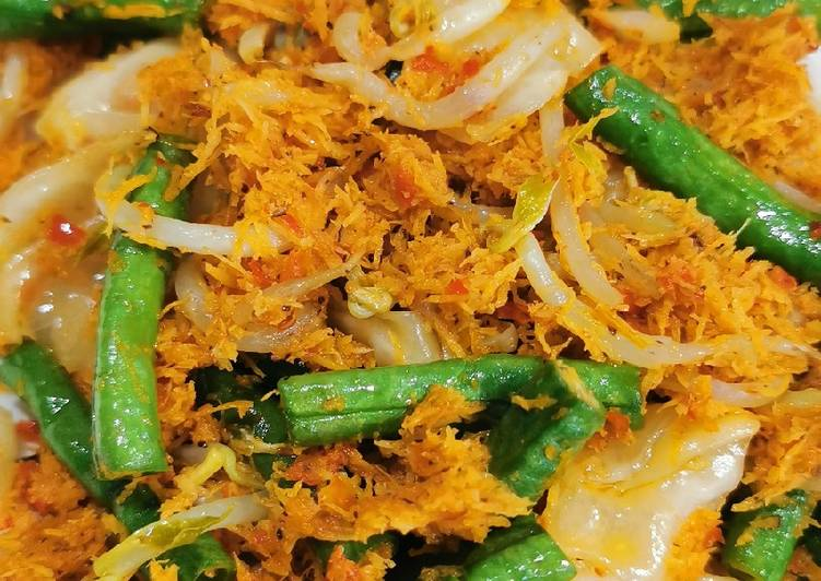Cara Mudah mengolah Urap vegetarian lezat