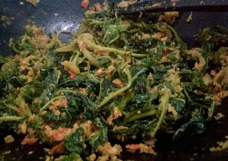 Resep: Urap daun papaya istimewa